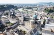 Panorama Salzburga - widok z góry
