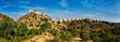 Panorama of Kumbhalgarh fort. Rajasthan, India