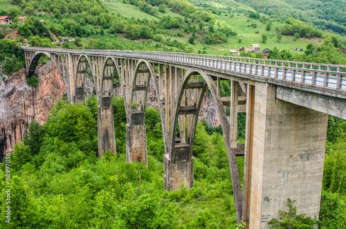 Obraz na Plexi Bridge over canyon