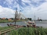 Barca da pesca di Enkhuizen, Olanda