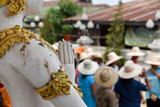 The ordained in Thailand Accessories in ceremony ordained,necessary for the monk of Buddhist Thailand