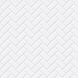 White tiles, ceramic brick. Diagonal seamless pattern. Vector illustration EPS 10 - 119022259