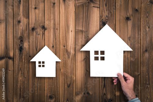 住宅イメージ 比較 Poster