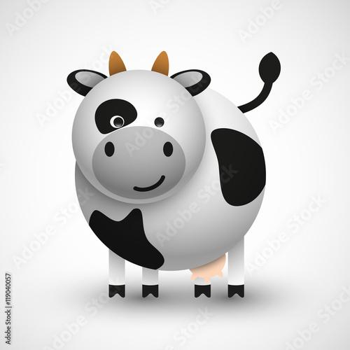 krowa wektor - 119040057