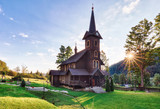 Wooden church, Tatranska Javorina, High Tatra Mountains, Western