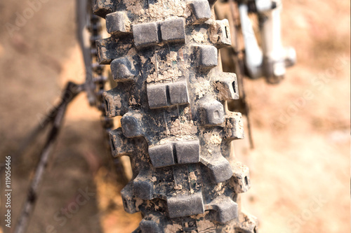 Motocross Bike - Details Poster