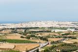 Вид из Мдины в сторону моря