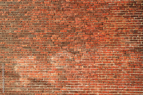 Papiers peints Brick wall facade view of old brick wall background