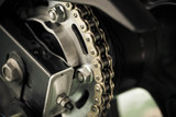 motorcycle chain - 119108203