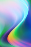 Abstract Colorful Wave