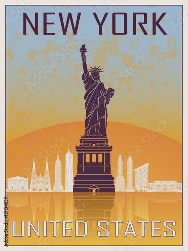 New York Vintage Poster 2