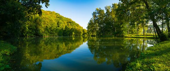 Fototapeta jezioro - panorama