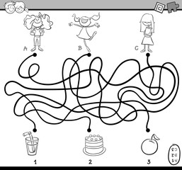 maze coloring book