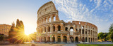 Colosseum in Rome and morning sun, Italy - 119146497
