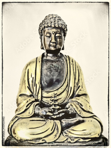 Poster Buddha in Trance