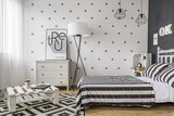 Fototapety Bedroom with creative solutions