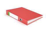 Red Ring Binder - 119166642