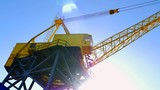 4K Crane Construction Equipment, Industrial Shipping Lifting Cables and Hook