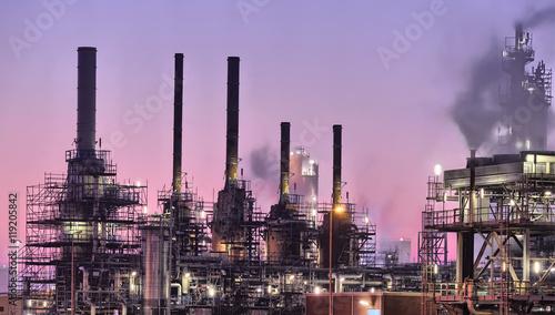 Industrial chimneys, Port of Rotterdam