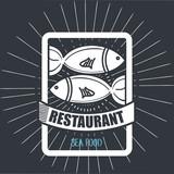 menu restaurant cover icon vector illustration graphic