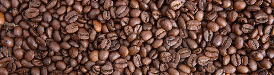 Coffee beans as background © Rawf8