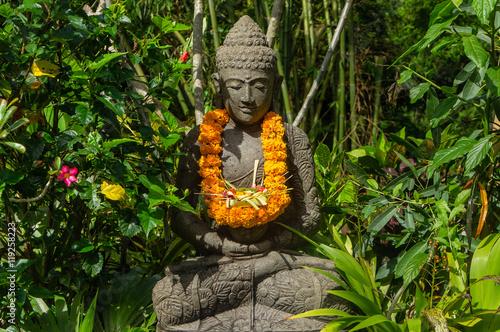 Fotobehang Bali Statue zen à Bali, Indonésie