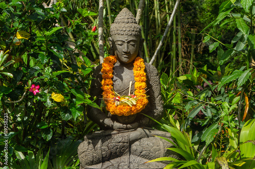 Plexiglas Bali Statue zen à Bali, Indonésie