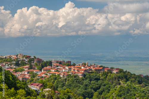 Foto op Canvas Bedehuis Urban and natural sites near Tbilisi, Kutaisi, Borjomi