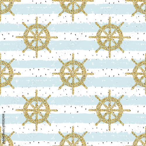 Repeat pattern with helms for adventure, for wrapping, wallpaper