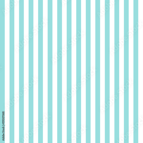 Stripe pattern seamless green aqua and white colors. Fashion design pattern seamless . Geometric vertical stripe abstract background vector. - 119307068