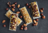 Cereal bars with nuts - 119323832