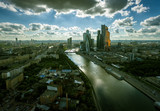 Aerial view of Moscow