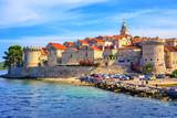 Korcula old town, Dalmatia, Croatia - 119344448