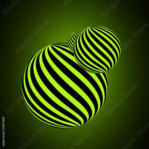 Obraz Abstract ball