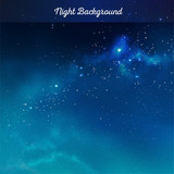 Fototapety Vector night sky background