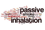 Passive inhalation word cloud