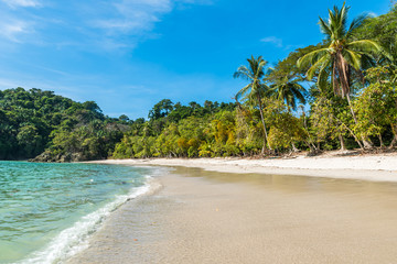 Manuel Antonio, Costa Rica - beautiful tropical beach