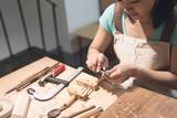 wooden working