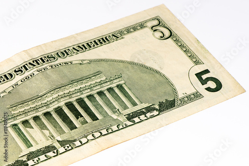 Poster USA currancy banknote