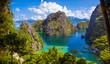 Paradise Lagoon in Coron, Palawan - Philippines
