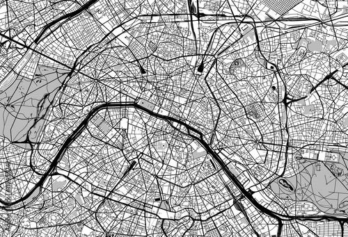 Paris city map - 119453242