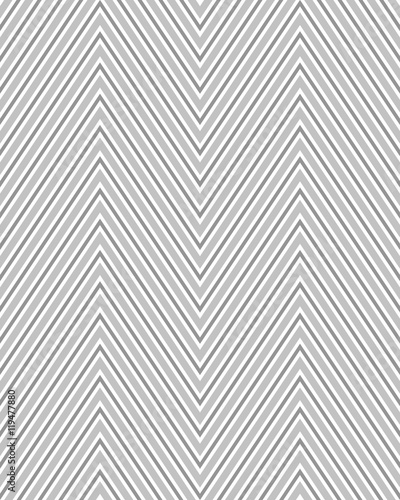 Seamless zigzag pattern, abstract background, vector texture - 119477880