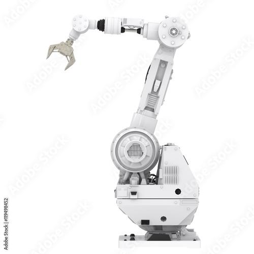 Poster robotic arm