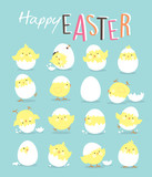 Fototapety Easter Day greeting card