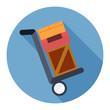 Постер, плакат: shipping inventory icon
