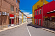 Town of Drnis colorful street view