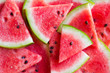 Slices of watermelon background