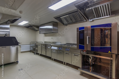 Professional oven in the industrial kitchen | Buy Photos | AP Images ...