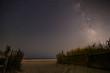 Stone beach night landscape, NJ