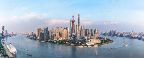 Fotobehang Shanghai Spectacular views of the Bund,shanghai,china.